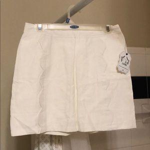NWT White Skirt